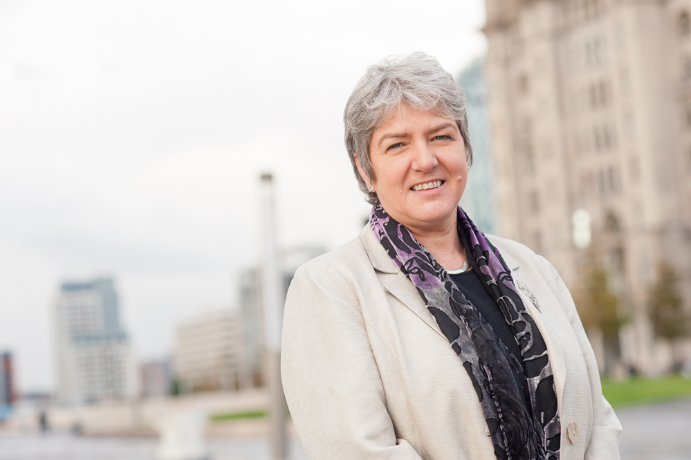 Merseyside's Police Commissioner Jane Kennedy